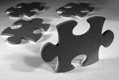 Puzzle pieces Stock Images