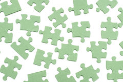 Puzzle Pieces. On white background Stock Images