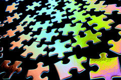 Puzzle pieces Stock Photography