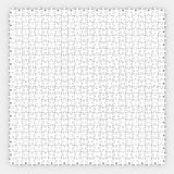 Puzzle Pieces Background Small Parts Connecting Together. Small puzzle pieces arranged or connected together in a pattern or background to illustrate fitting Stock Photography