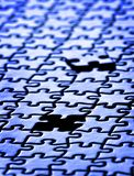 Puzzle Pieces Completed Royalty Free Stock Image