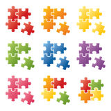 Puzzle Pieces Royalty Free Stock Photos