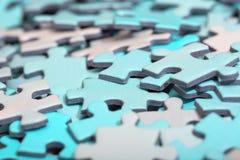 Puzzle pieces. Stock Image