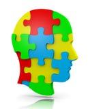 Puzzle principal Images stock