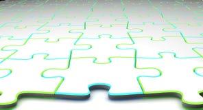 puzzle przestrzeni Zdjęcia Royalty Free
