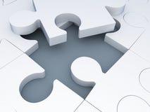 Puzzle-puzzle Fotografia Stock Libera da Diritti