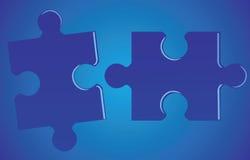 Puzzle-puzzle Immagini Stock