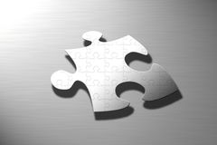 Puzzle on puzzle Stock Photography