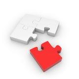 Puzzle quatre Image libre de droits