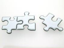 puzzle quicksilver Zdjęcie Royalty Free