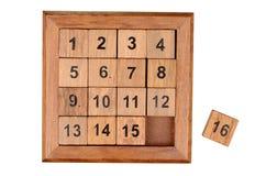 Puzzle quinze photographie stock libre de droits