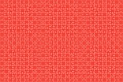 Puzzle rouge de morceaux de puzzles - fond de vecteur Photographie stock libre de droits