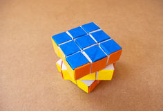 Puzzle rubik cube Royalty Free Stock Photography