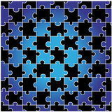 Puzzle senza giunte Fotografia Stock