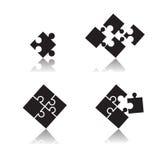 Puzzle set Royalty Free Stock Image