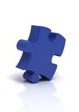 Puzzle simple Photographie stock