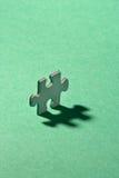 Puzzle singolo Fotografia Stock Libera da Diritti