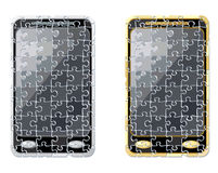 Puzzle smart phone Royalty Free Stock Photography