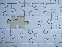 Puzzle solo immagine stock