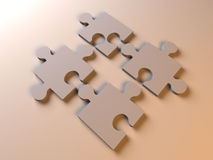 Puzzle Solution Stock Photos