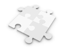 Puzzle Solution Royalty Free Stock Photo