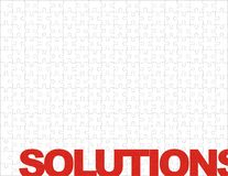 Puzzle solutions Royalty Free Stock Images