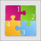Puzzle Square Stock Photo