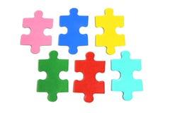 Puzzle-Stücke Stockbild
