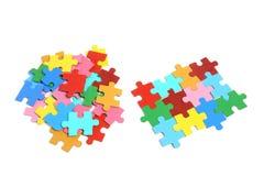 Puzzle-Stücke Stockfotografie