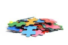 Puzzle-Stücke Stockfoto