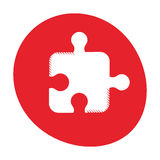 Puzzle strategy creativity abstract image Royalty Free Stock Photo
