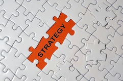 Puzzle and Strategy Stock Photography