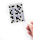 Puzzle with subject on internet Royalty Free Stock Photography