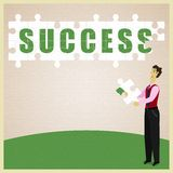 Puzzle Success Royalty Free Stock Photos