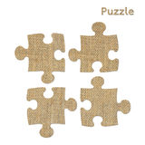 Puzzle symbol Royalty Free Stock Photography