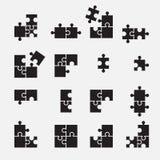 Puzzle symbol Royalty Free Stock Photos