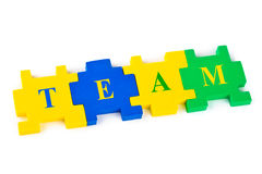 Puzzle Team Royalty Free Stock Images