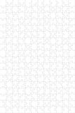 Puzzle template. A background empty puzzle. High quality image Stock Image