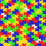 Puzzle texture Stock Photo