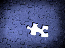 Puzzle Together Royalty Free Stock Photo