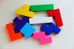 Puzzle toy for education Royalty Free Stock Photos