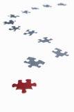 Puzzle trails Stock Images