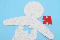 Puzzle umano Immagini Stock