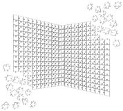 Puzzle Vector 02 Royalty Free Stock Photo