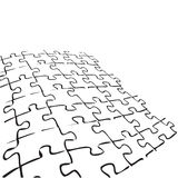 PUZZLE (vector) Royalty Free Stock Photos