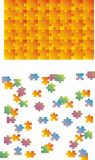 Puzzle vector royalty free stock images