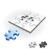 Puzzle vector Royalty Free Stock Photography