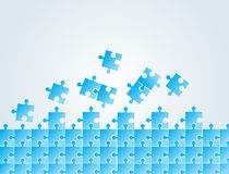 Puzzle vector design Stock Photography