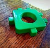 Puzzle vert Image libre de droits