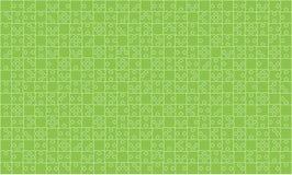 puzzle vert de 375 morceaux de puzzles - vecteur Photographie stock libre de droits
